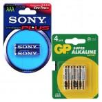 Элемент питания Sony/GP AAA (LR 03) 1,5 В Alkaline