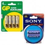 Элемент питания Sony/GP AA (LR 06) 1,5 В Alkaline