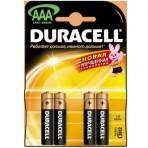 Элемент питания Duracell AAA(LR03) 1,5 В Alkaline