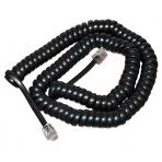Телефонный шнур витой 4 м. черный