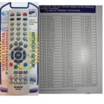 Пульт универсальный Toshiba RM-D602 HUAYU код:0947