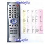 Пульт универсальный RM-D66E для DVD HUAYU код:0992