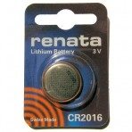 Элемент питания RENATA CR 2016 3 В Lithium
