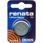 Элемент питания RENATA CR 2025 3 В Lithium