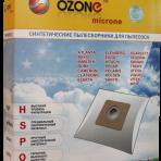 Мешки-пылесборники OZONE Euro E-24 4шт.  Bork,Cameron,Clatronic,Elenberg,Polaris,Rolsen,Scarlett,Vitek