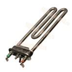 ТЭН для стиральной машинки  1700W (прям.с отв.L=169, R=13, M=120)   прямой/универсальный.   арт.3406054