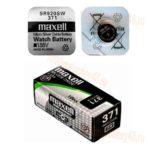 Элемент питания maxell 371 /SR920SW/ 1,55 В