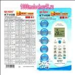 Пульт универсальный QUNDA KT-E08 для кондиционера 6000 в 1 код:1069