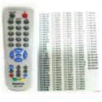 Пульт универсальный Toshiba RM-162B код:1791